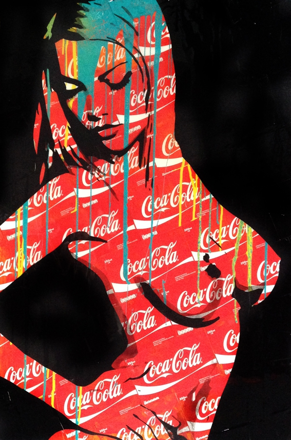 F2B,artiste,pop,art,brandbabes,coca,